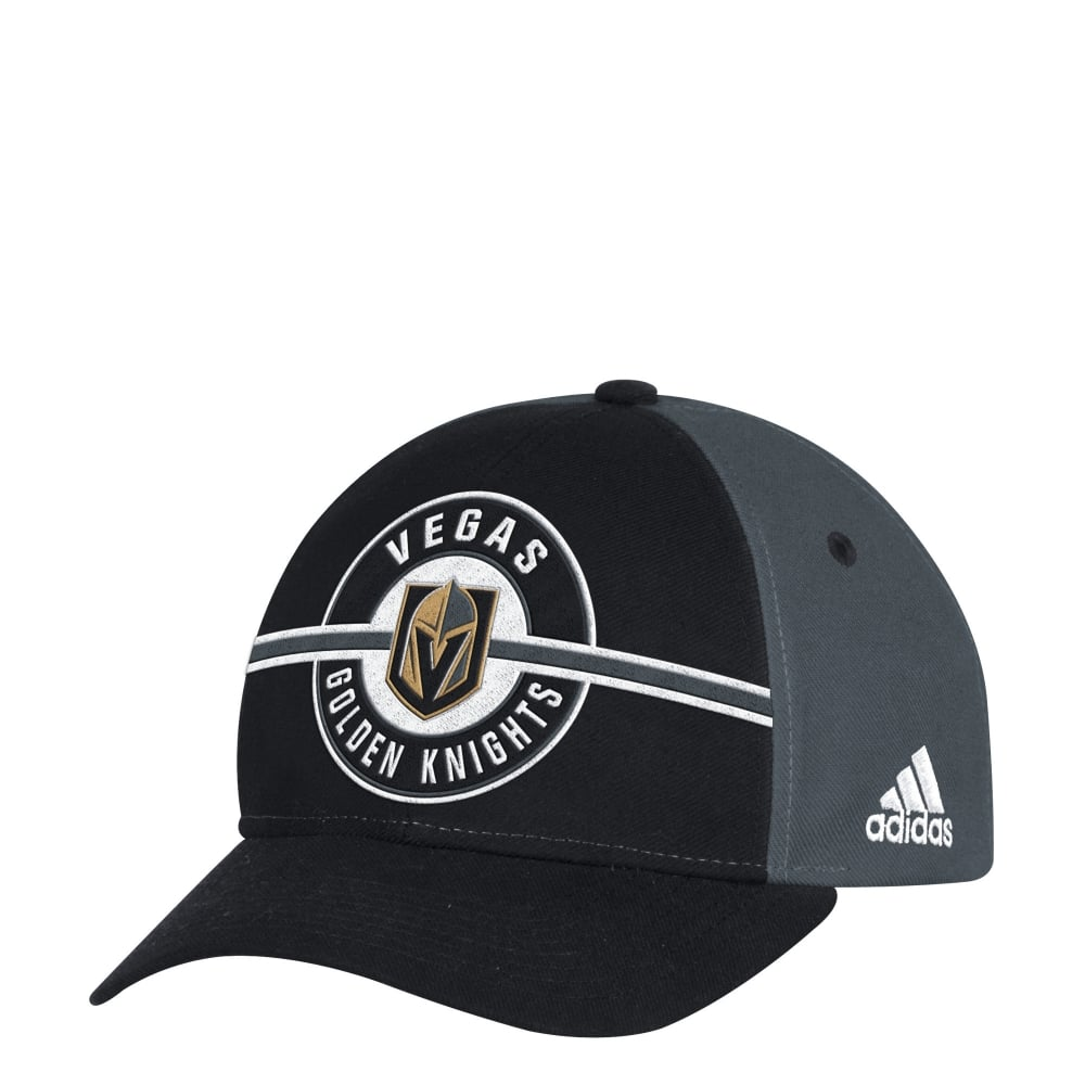 finest selection 13d79 0eee2 NHL Las Vegas Golden Knights Structured Adjustable Cap